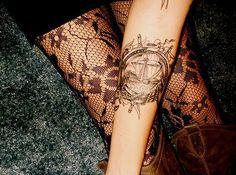 Nautical ship tattoo