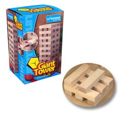 Giant-Jenga-Style-Wooden-Block-Tower-Garden-Game-Family-Party-60-Pc-Summer-Fun
