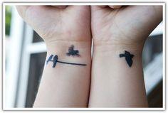 Miss Bonjour: Inspiração - Tatuagem de pássaros
