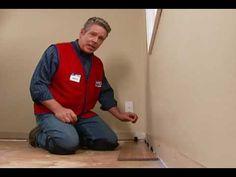 Installing laminate floors