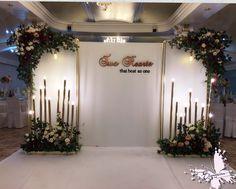 Wedding Backdrop Design, Wedding Stage Design, Wedding Reception Lighting, Wedding Stage Decorations, Engagement Decorations, Floral Backdrop, Backdrop Decorations, Wedding Designs, Backdrops