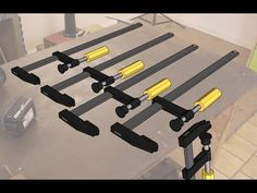 Making long F-Clamps | Homemade Clamps | The new Grinder in Action | Pat...
