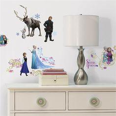 Disney Frozen Glitter Wall Decals