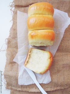 "[Soy Milk Bread]  There are many different methods or styles to making bread. My family likes the super soft, bouncy and fluffy texture of bread. So, the Tangzhong ""Roux water"" method definitely great for me to making this soft texture bread. This is an amazing method and the bread can stays soft and fluffy even after a few days.Sound great right ?! The soymilk bread is a healthy and full of nutritions and minerals, especially great for vegetarian"