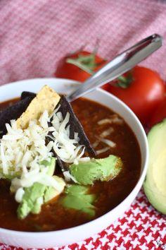 spicy chili recipe | via vmac+cheese