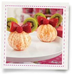 Minnie Mouse Fun Fruit Snack How-To - Party City