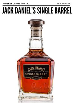 October 2014 Whiskey of the Month