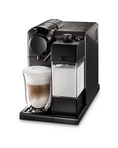 Two great systems merge in one compact design in this premium espresso and cappuccino maker from De'Longhi. The Nespresso Lattisima has an easy-to-use interface that brings barista-grade coffee drinks to your kitchen at the touch of a button. Cappuccino Maker, Cappuccino Coffee, Espresso Maker, Coffee Maker, Espresso Parts, Espresso Machine Reviews, Best Espresso Machine, Jimin Fanart, Nespresso Lattissima