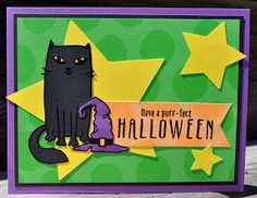 DAT'S My Style: August Stamp of the Month Blog Hop - Purr-fect Halloween #AdventureFundamentals #CTMHFlowerMarket