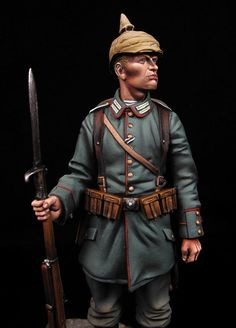 Prussian infantry I World War. Scale 90mm Andrea miniatures Painter: David Hernanz