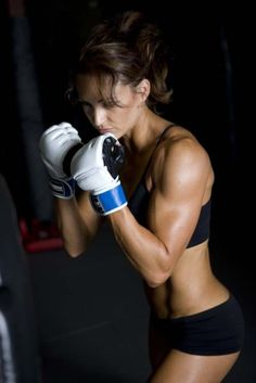 Want a body like this? Burn up to 900 calories in one kickboxing class at x3 Sports in Atlanta while you tone your arms, abs and legs. www.x3sports.com/kickboxing