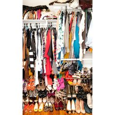 closets | Tumblr ❤ liked on Polyvore featuring room