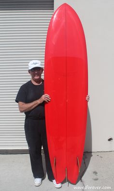 Skip Frye Surfboards 8′ Fish Simmons (SOLD) | Waves Forever