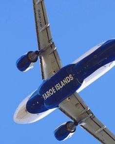 ATLANTIC AIRWAYS  FAROE ISLANDS OY-RCG A319 after take off from CPH/EKCH by kevinbalaz