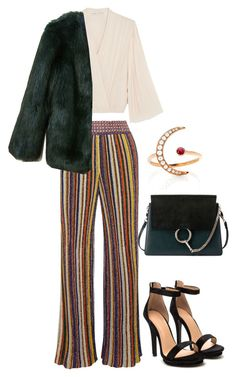 """""""Disco fever 🤒🕺🏽"""" by clementine-niwemukobwa on Polyvore featuring mode, Missoni, Alice + Olivia, EF Collection, Chloé en THP"""
