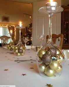 8 ideias ridiculamente fáceis para decorar a mesa de Natal