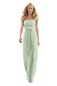 After Six 6556 Bridesmaid Dress in Sage Green in Chiffon