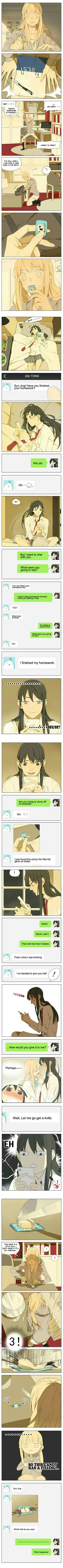 Tamen De Gushi, chapter 95