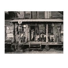 Dorothea Lange // Crossroads Store, Alabama 1937 // Dorothea Lange is credited with capturing the true traumas faced by many Americans during the Great Depression. You may remember her 'Migrant Mother'. It's ICONIC. // Here she captures the deep, Deep South. //