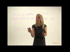 Breaking down larger decimal numbers - YouTube