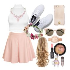 """Girly day out"" by hannahkate2251 ❤ liked on Polyvore"