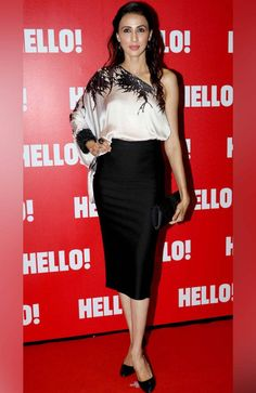 Alesia Raut at Hello! magazine's coffee table book launch. #Page3 #Fashion #Style #Beauty #Hot #Sexy Hello Magazine, Book Launch, Coffee Table Books, Bollywood Celebrities, Beautiful Actresses, Skirt Fashion, Peplum Dress, Celebrity Style, High Waisted Skirt