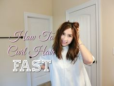 Hello everyone  In today's video I am going to show you how to curl your hair fast and easy.  To achieve this look you can use a wind diffuser to dry & curl your hair at the same time.  If you need it link to product is included below. Hope this was helpful!! Enjoy!  Amazon Affiliate Product - Rosallini Wind Diffuser:  http://amzn.to/22otW6k    Please support my channel by subscribing.  It's free :D Much Love http://www.youtube.com/subscription_center?add_user=minimaliststyling@gmail.com…