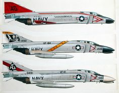 US Navy F-4 Phantoms