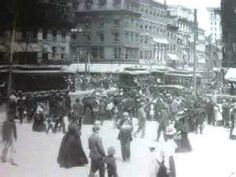 Downtown Worcester at the turn of the 20th century