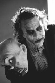 Heath Ledger as the Joker from Batman The Dark Knight