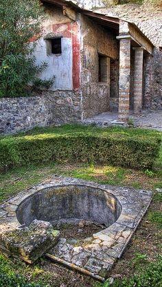 Pompeii Roman House. Italy