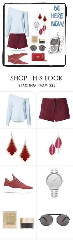 """""""beauty of women¶"""" by racheal-taylor on Polyvore featuring Theory, Andrea Bogosian, Kendra Scott, Serefina, Filling Pieces, Nixon, Stila, Seafolly and Salvatore Ferragamo"""