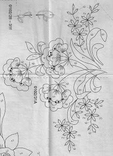 Jacobean Embroidery, Hand Embroidery Patterns, Quilt Patterns, Embroidery Designs, Embroidery Needles, Embroidery Applique, Cross Stitch Embroidery, Bordado Popular, Sewing Art
