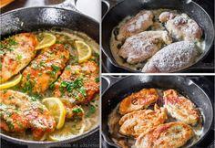 Petto di Pollo al Limone e Capperi