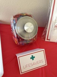 """Life Savers"" at my Nursing Graduation Party! by suzette"