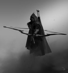 Maläkath, The Dark Lieutenant. (Agandaûr, Consumed by Grief) - High Fantasy - High Fantasy, Dark Fantasy Art, Fantasy World, Dark Art, Ninja Kunst, Arte Ninja, Ninja Art, Fantasy Character Design, Character Inspiration