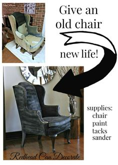 How to transform a thrift store chair with paint!