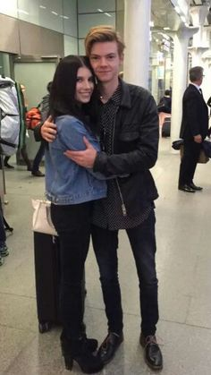 Thomas and a fan