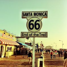 I wanna go where the end od the trail is! / Santa Monica pier / West end West side Dogtown ^_^