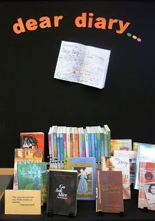 """Cute. All books that are written in a diary format. Maybe title it """"Dear Journal"""" instead to not scare off the boys?"""