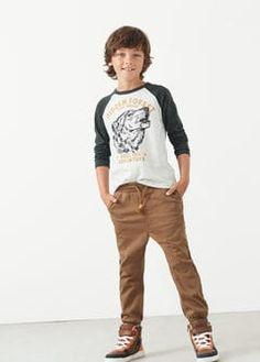 Pantalón jogging algodón