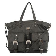 Jada Tote - Charcoal by R + J Handbags