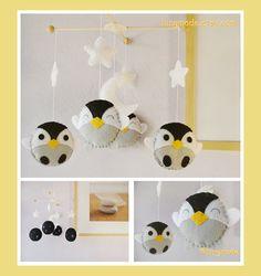 Hey, diesen tollen Etsy-Artikel fand ich bei http://www.etsy.com/listing/104149539/baby-mobile-penguin-mobile-antarctic