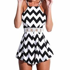 SUNNOW Sexy Halter Straps Jumpsuit Crossed Back Short Dress Playsuit SUNNOW http://www.amazon.com/dp/B00W2VUMA8/ref=cm_sw_r_pi_dp_PEpqvb0W71EZF
