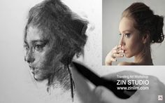 Charcoal Drawing Easy