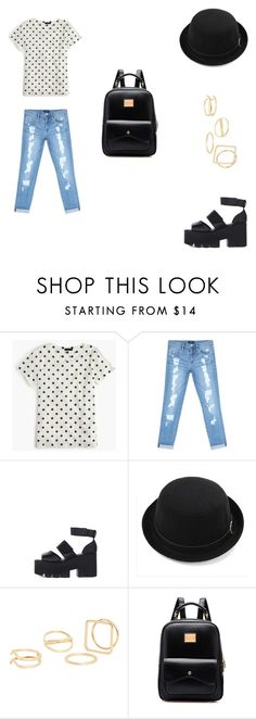 """""""💙Social Jam Tour Outfit💙"""" by parislove-jr on Polyvore featuring J.Crew, Bebe and MANGO"""