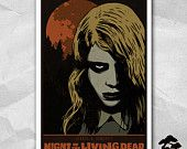 Night of the Living Dead- 12 x 18 Inch Poster - George A. Romero - Horror Movie - Zombie