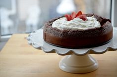 Fallen Chocolate Cake from Bon Appétit. One of the best gluten-free desserts you will ever have!