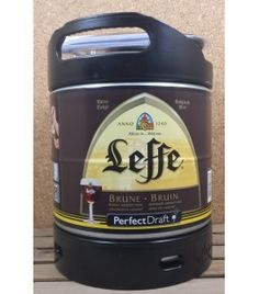 Leffe Brune 6 L Keg Perfect Draft