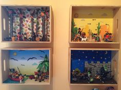 Dioramas Playmobil